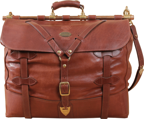 Leather No. 4 Grip Travel Bag