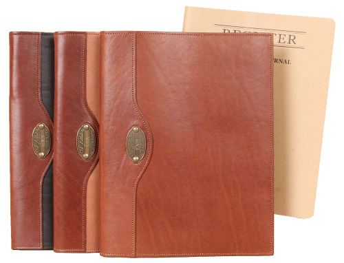 Leather No. 30 Composition Journals