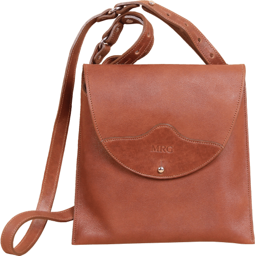 Leather Derby Crossbody Bag