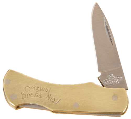 No. 1 Brass Knife