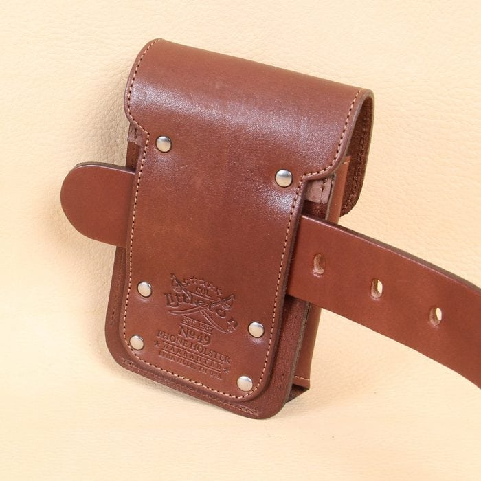 promo code 6720f 216c2 No. 49 Phone Holster - Leather - Standard
