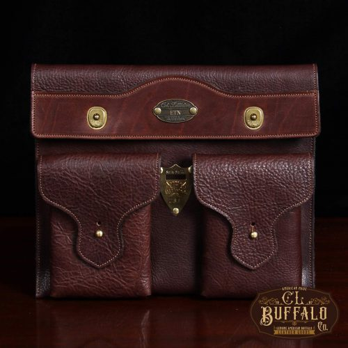 tobacco american leather buffalo leather concealed carry pocket